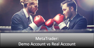 MetaTrader demo vs real accounts