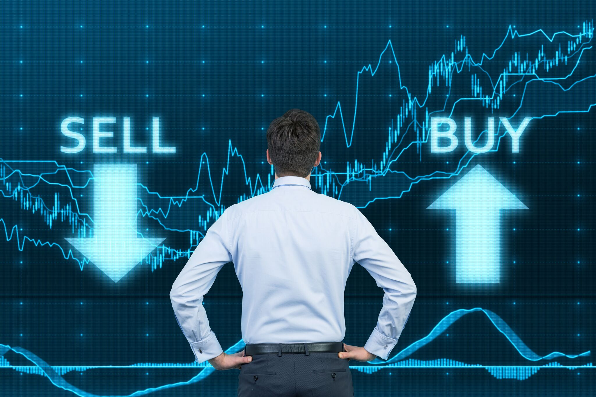 Buying and selling on forex market