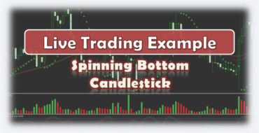Spinning Bottom Candlestick - Live Forex Trading Example