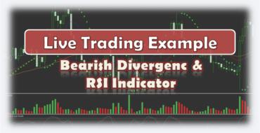 Bearish Divergence RSI Indicator - Live Trading Example