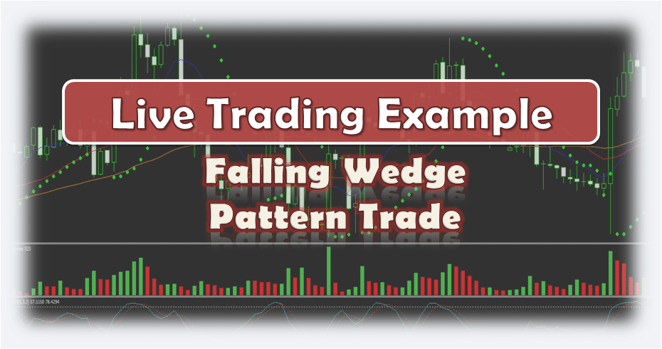 Falling Wedge Pattern Trade - Live Trading Example