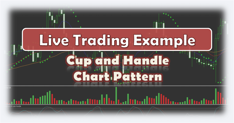 Forex Cup and Handle Chart Pattern - Live Trading Example