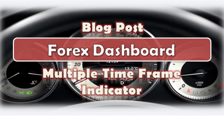 Forex Dashboard Multiple Time Frame Indicator MT4