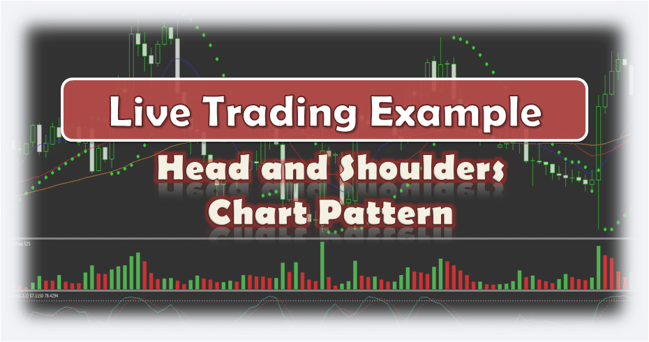 Forex Head and Shoulders Chart Pattern - Live Trading Example