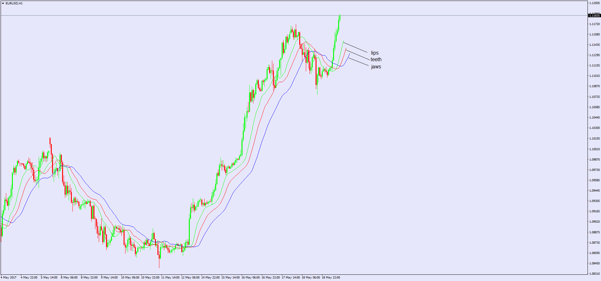 Forex alligator indicator