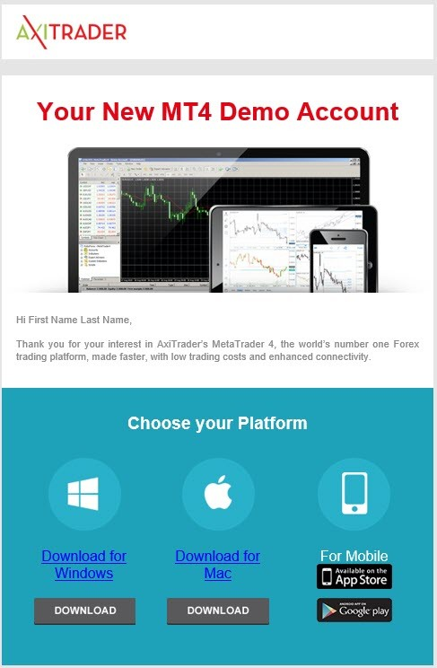Beginner Forex Trading with AxiTrader Demo Account