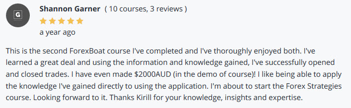 Udemy Review MT4 Course