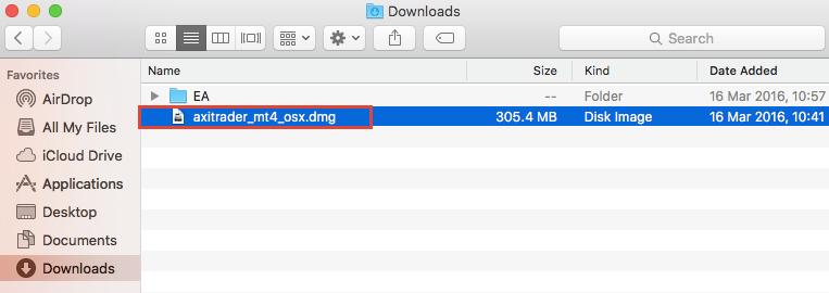 axitrader installation file in mac