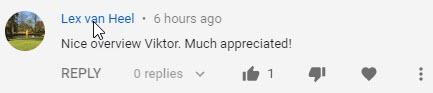 YouTube review Lex van Heel